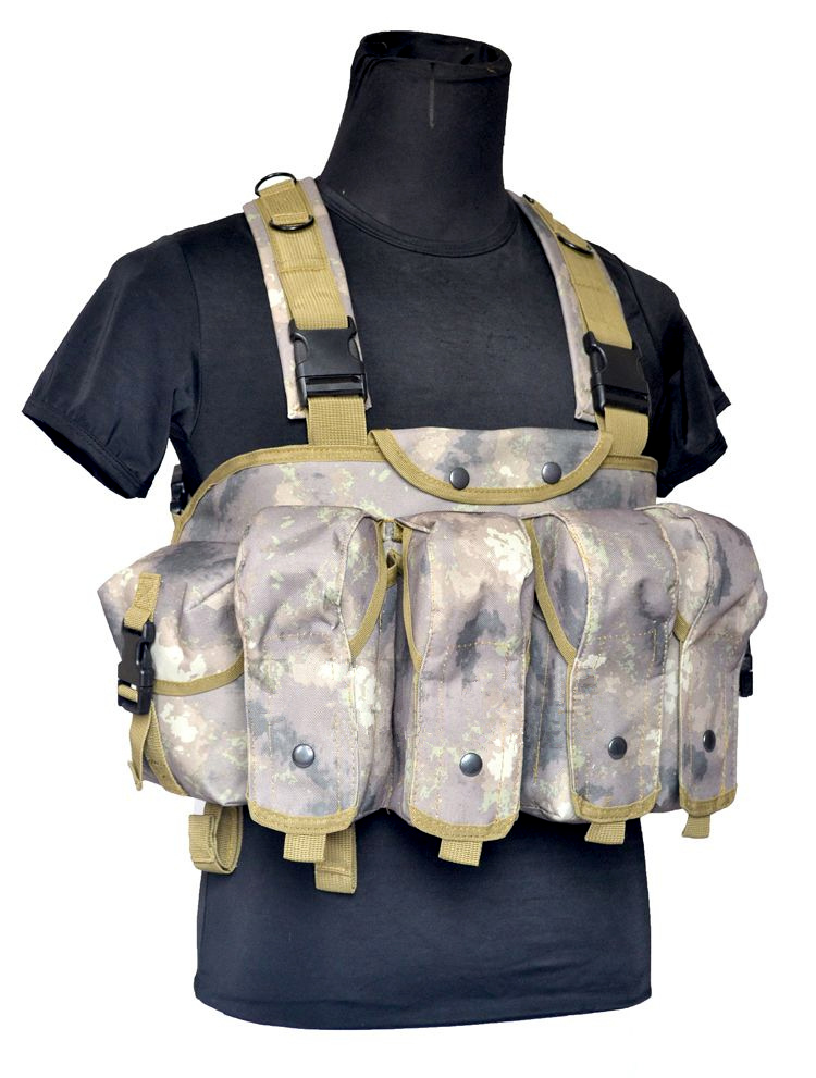 Wolf Force R.S.E. Tactical AK Chest Rig - ATACS AU