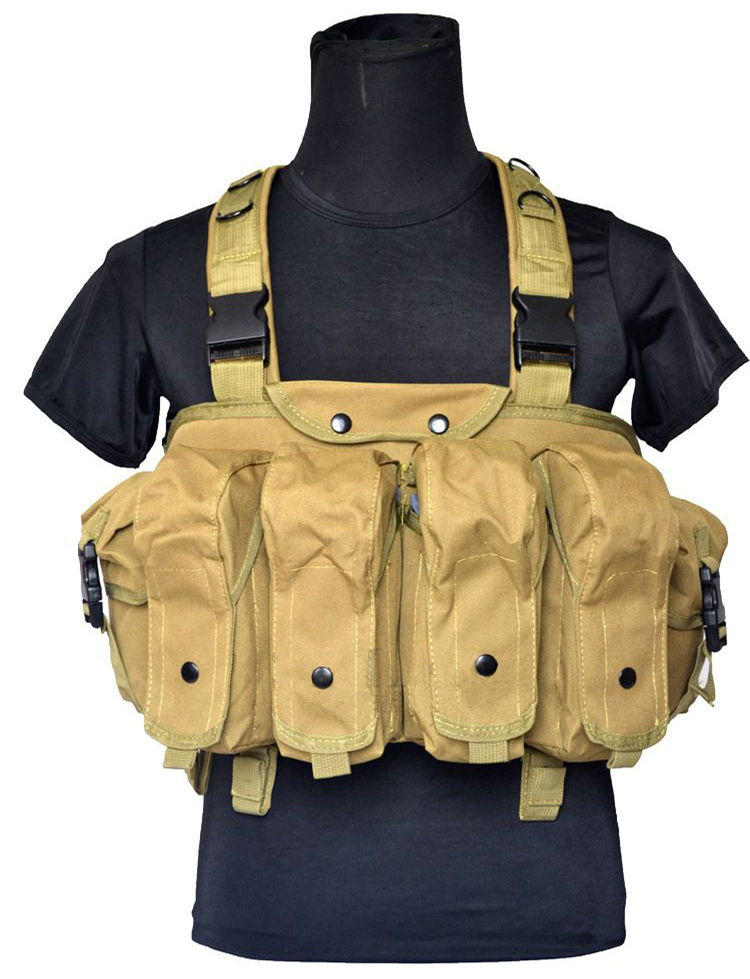 Wolf Force R.S.E. Tactical AK Chest Rig - Tan