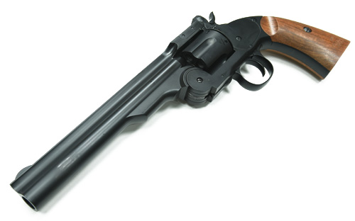 Gun Heaven (WinGun) S&W Schofield Major 1877 CO2 Revolver - BK