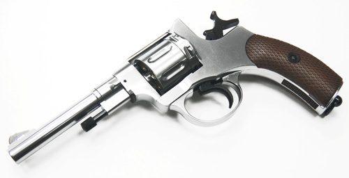 WG NAGANT M1895 CO2 Full Metal 6mm Revolver (Silver)
