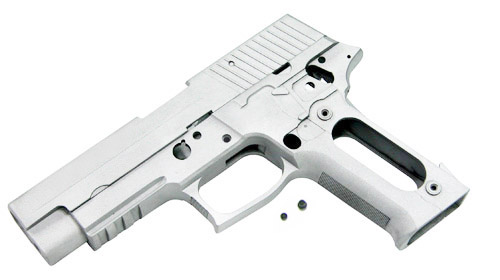 Guarder Aluminium Slide and Frame for MARUI P226 - Alum/Blank