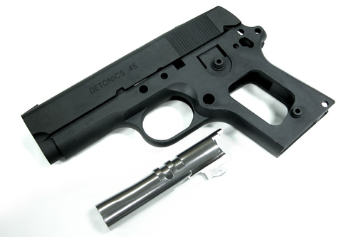 Guarder Alu Slide & Frame for MARUI DETONICS.45 (Bk/Early Ver.)
