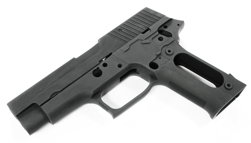 Guarder Alum Slide & Frame for MARUI P226 Navy (Black/Blank)