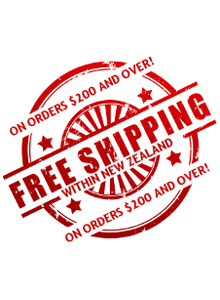 Free-Shipping for Orders Above $200