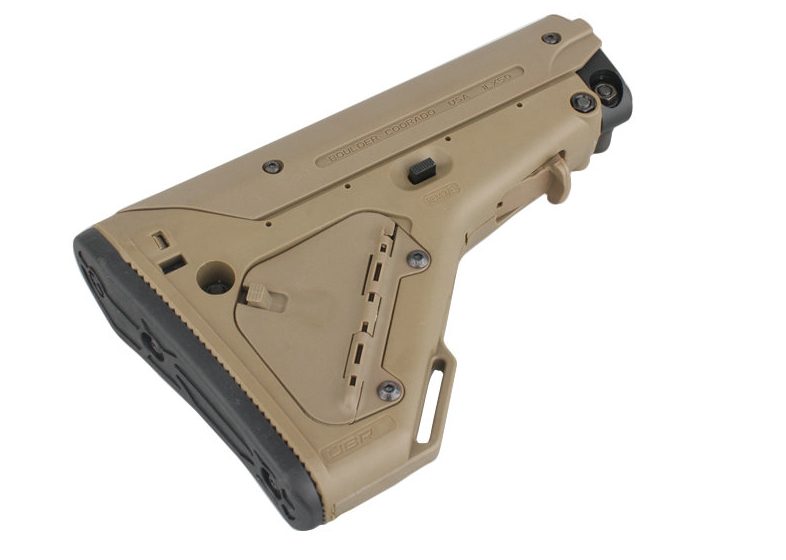 CM Magpul UBR Style Tactical Stock for Airsoft M4/M16 - DE