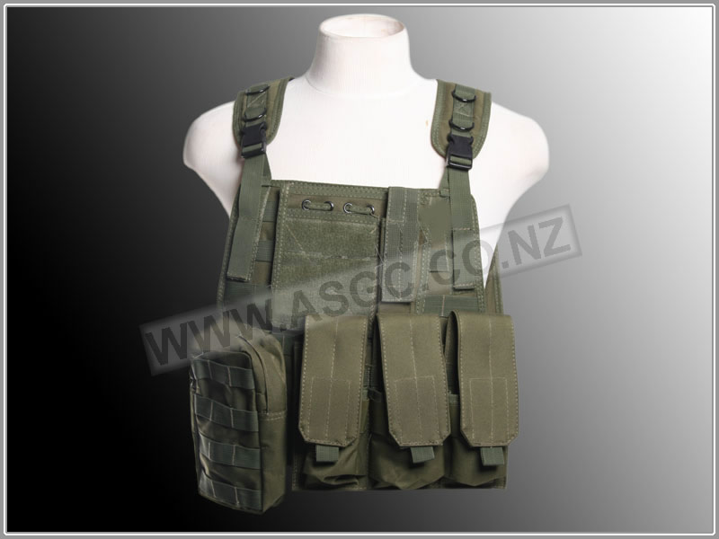 Special Forces Assault Vest - Green