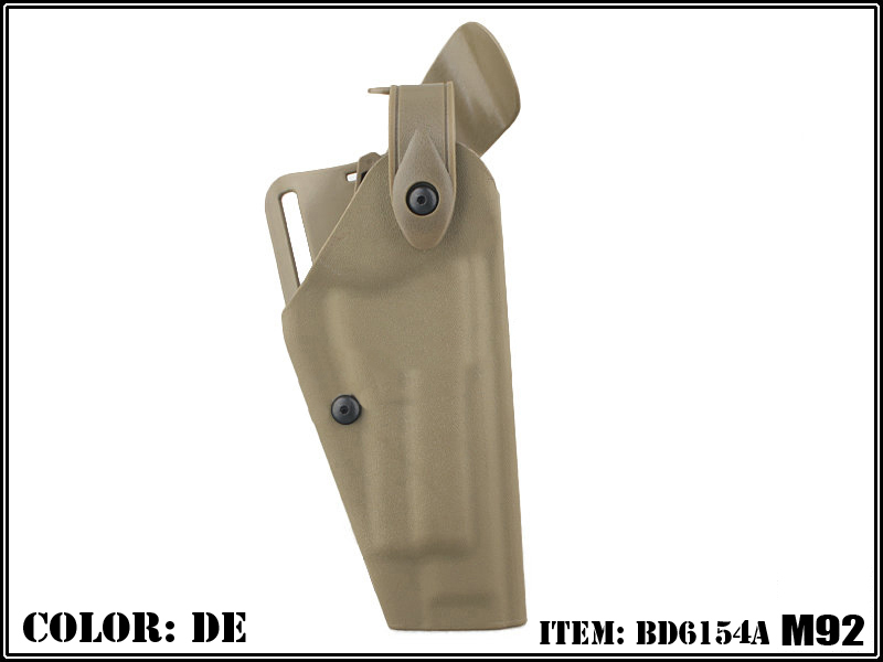 CM Safariland 6320 Holster Without Flashlight for M92 - DE