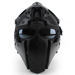 Emerson Ronin Full Mask w/ Internal Fan & 5 pcs Lens - Black