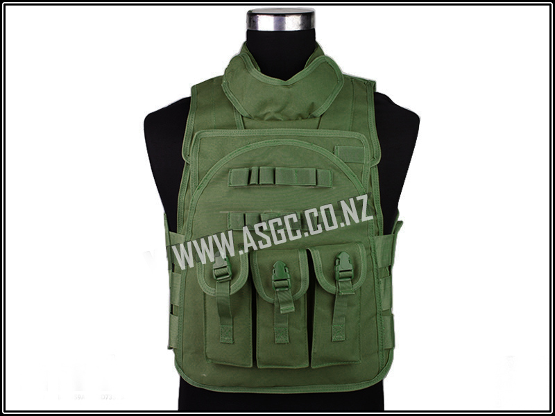 CM SWAT Security Tactical Vest - OD