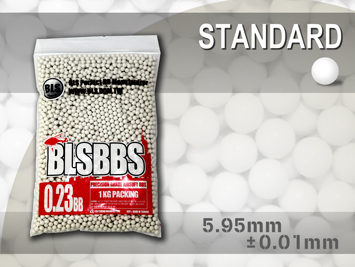 BLS Precision Grade White BBs - 1KG Bag of 0.23g