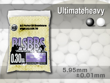BLS Precision Grade White BBs - 1KG Bag of 0.30g