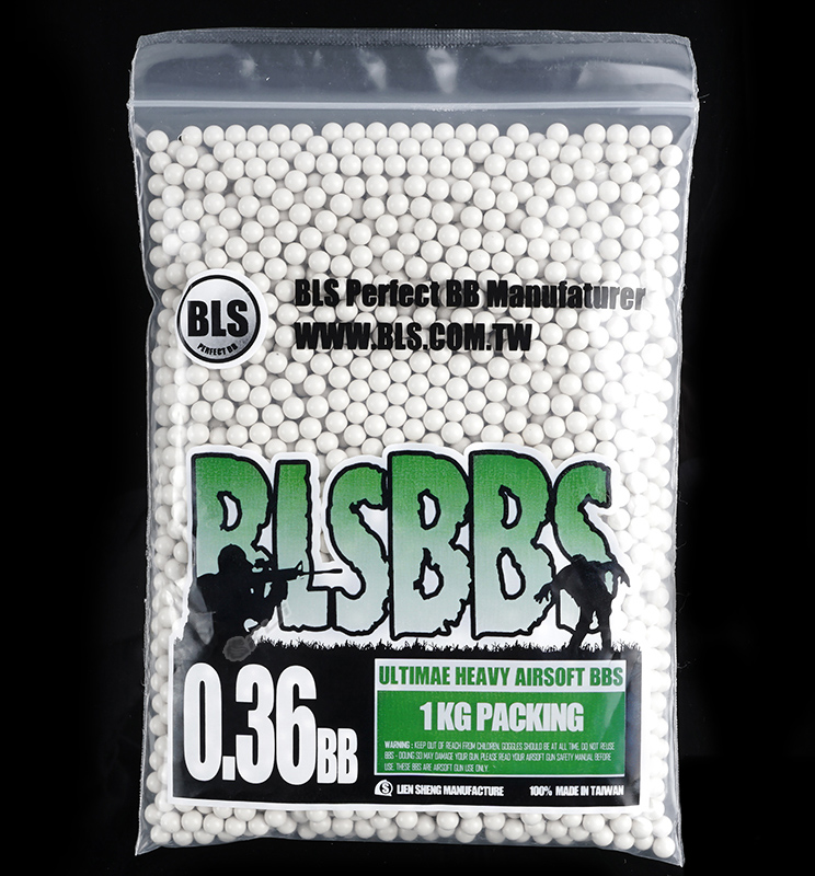 BLS Precision Grade Ivory BBs - 1KG Bag of 0.36g
