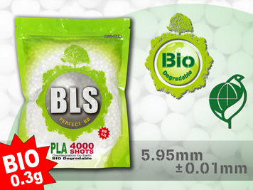 BLS Perfect Grade BIO PLA BBs - 4000rd Bag of 0.30g