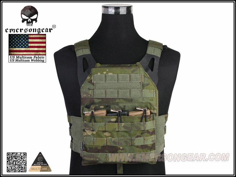 EMERSON JPC Tactical Lightweight Plate Carrier - Multicam Tropic