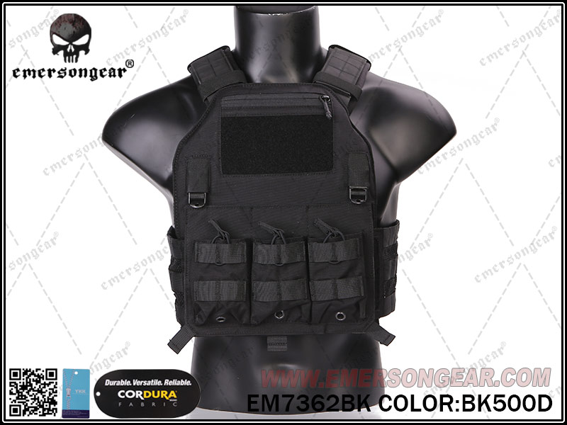 Emerson 420 Tactical Plate Carrier - Black