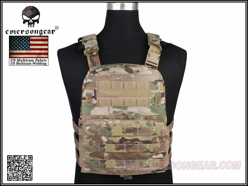 Emerson Gear CP Style Lightweight AVS Plate Carrier - Multicam