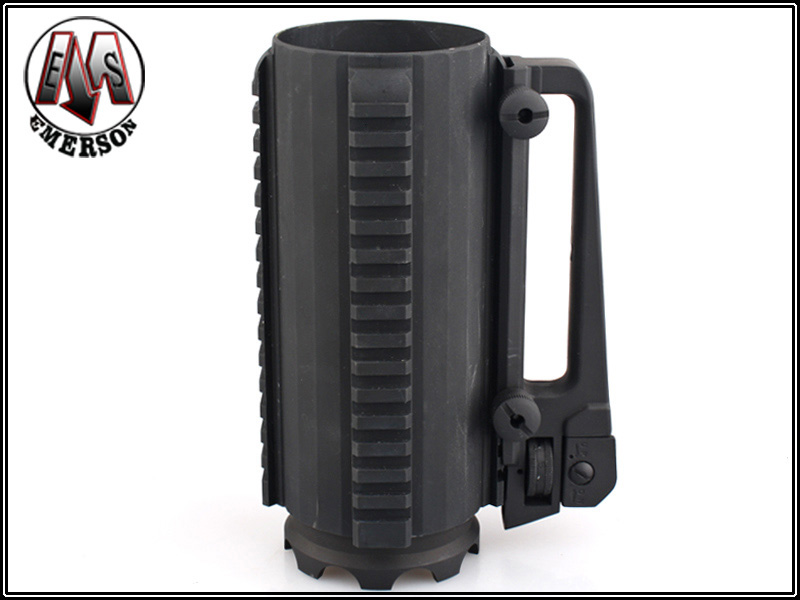 Emerson Aluminium Tactical Railed Cup with M4 Carry Handle