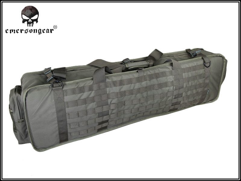Emerson M60 M249 Padded Molle Gun Bag / Case - Foliage Green