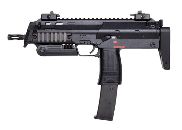 KWA H&K MP7 Gas Blowback Submachine Gun - Black