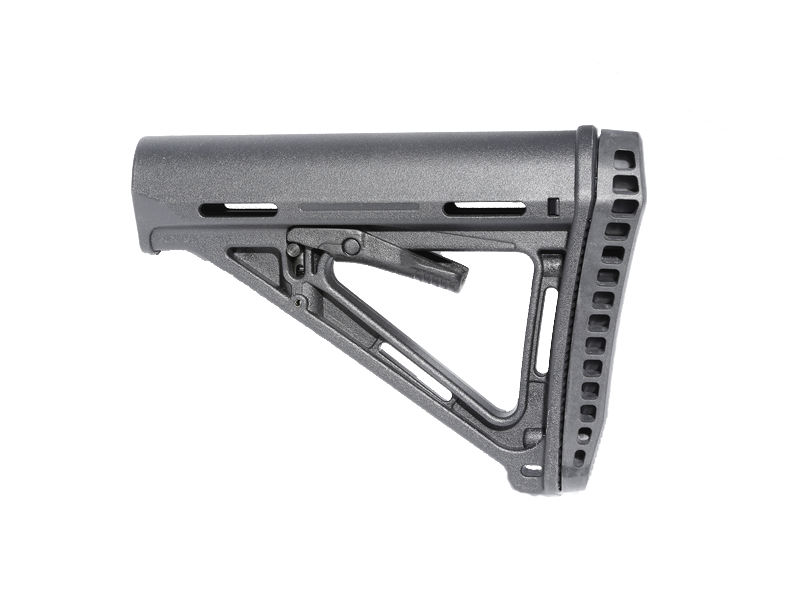 SHS MP CTR Style w/ Thick Pad M4 Rifle Stock for AEG & GBB - BK