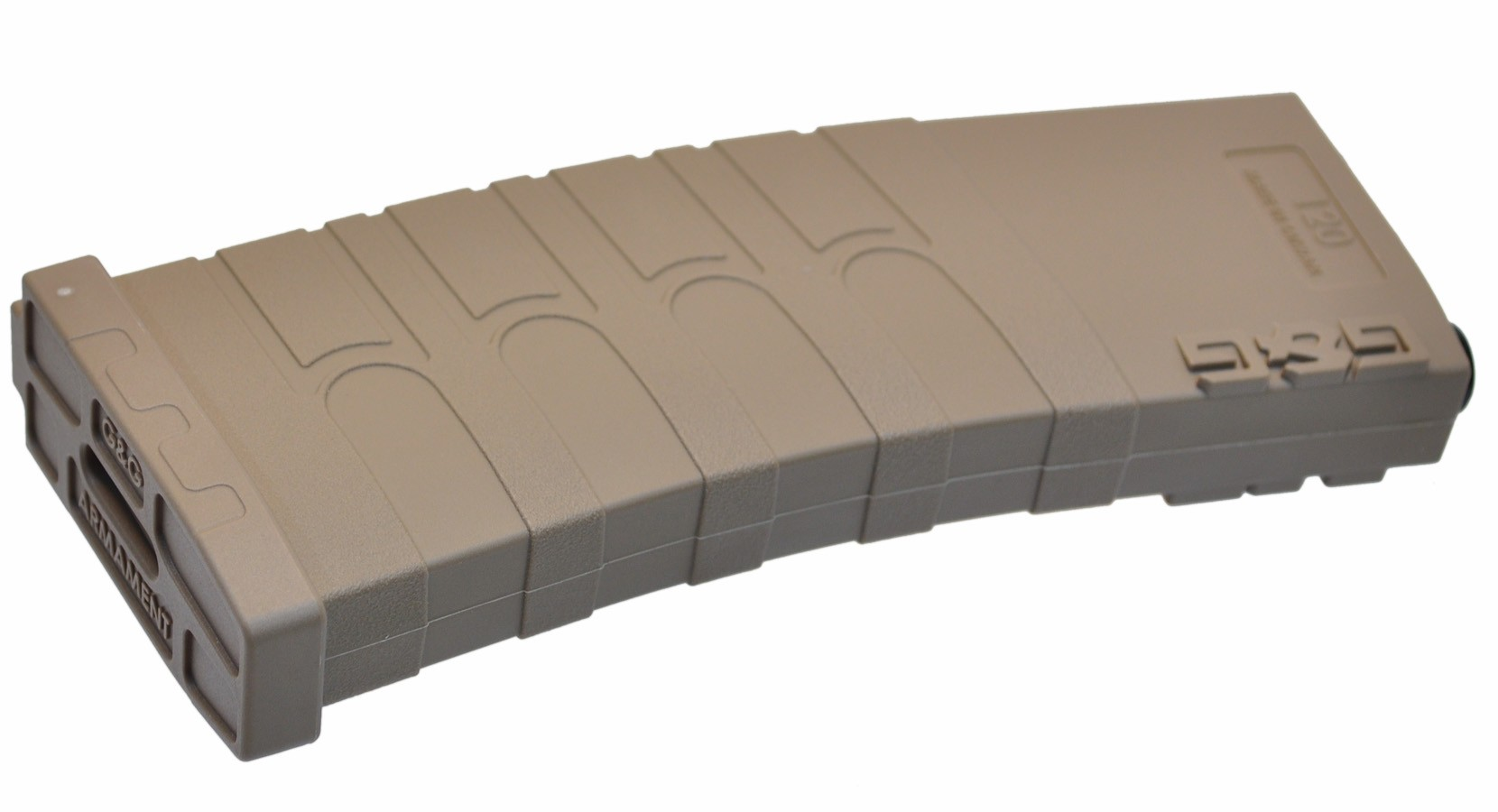 G&G 120rd Polymer M4 Midcap Magazine for GR16 - TAN