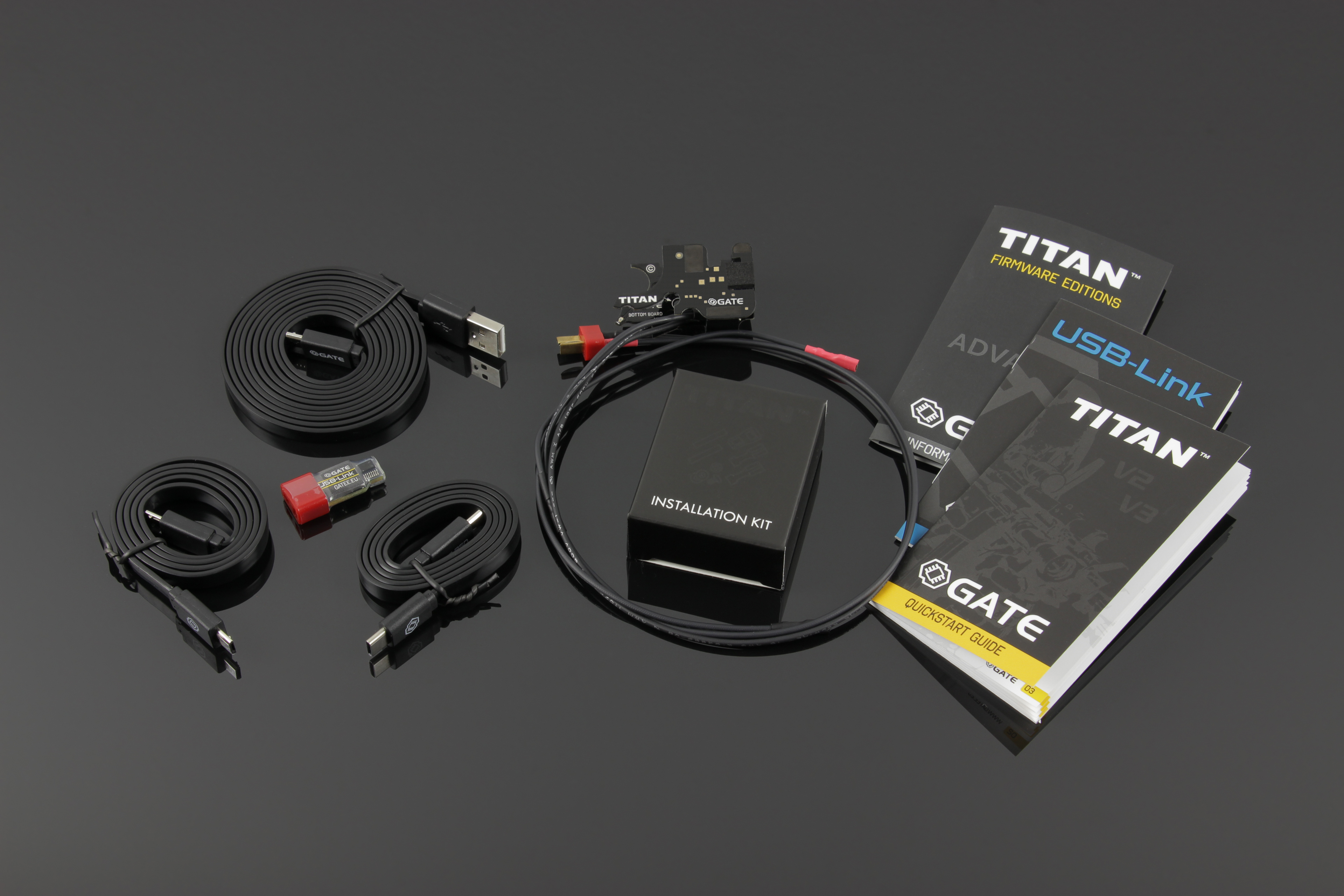 GATE TITAN V2 AEG Control System - Advance Ver. Front Wired