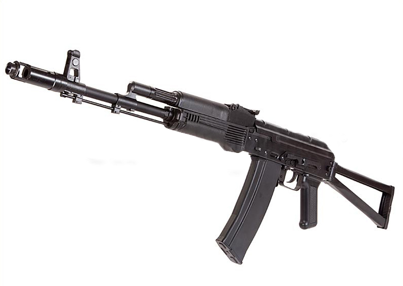 GHK AK74M GBB Rifle (GK47MN) w/ Skeletal Stock - Steel