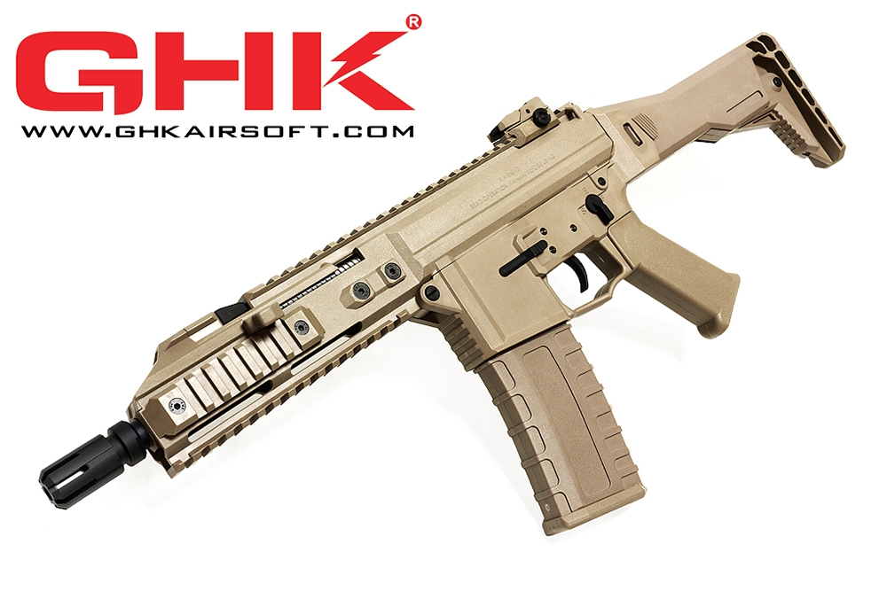 GHK G5 GBB Rifle (Tan) w/ V2 G5 Magazine