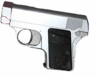 HFC Gas Silver Pea Shooter