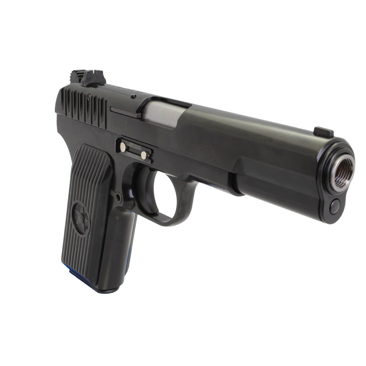 WE TT33 Full Metal Gas Blowback Pistol - Black