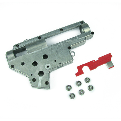 King Arms Ver.2 9mm Bearing Gearbox + M16 Selector Plate