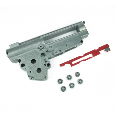 King Arms Ver.3 9mm Bearing Gearbox + AK Selector Plate