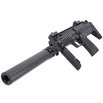 KA Power Up Carbon Fiber Silencer for KSC/KWA MP7