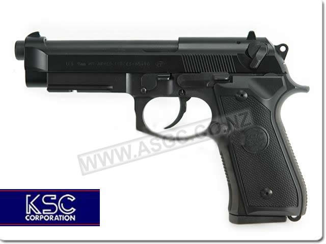 KSC Beretta M9A1 Full Metal Gas Blowback Pistol - System 7