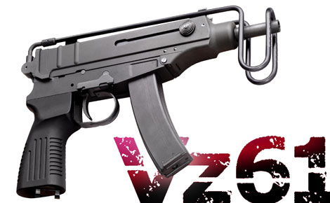 KSC VZ61 Skorpion Gas Blowback SMG w/ Short Mag