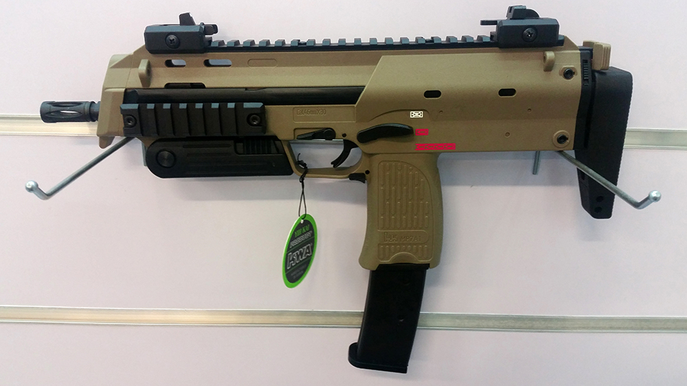 KWA H&K MP7A1 GBB SMG - Two Tone