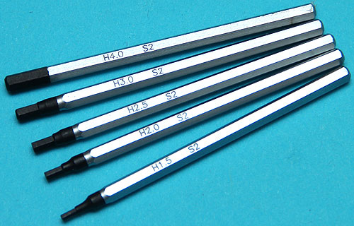 G&P Precision Screwdriver (HEX) (5 Pcs)