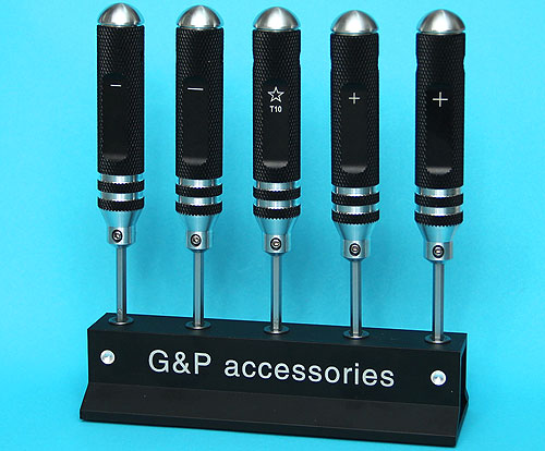 G&P Precision Screwdriver Set (P/S) (5 Pcs)