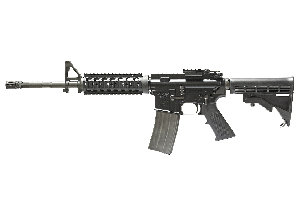 GHK M4A1 RIS 14.5 inch GBB Rifle - Version 2