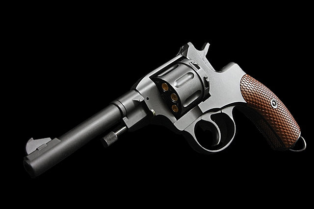 WG NAGANT M1895 CO2 Full Metal 6mm Revolver (Black)