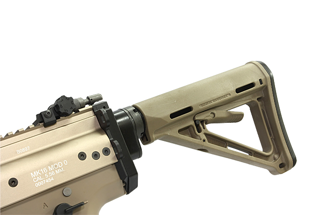 RA WE Scar adapter for retractable buttstock
