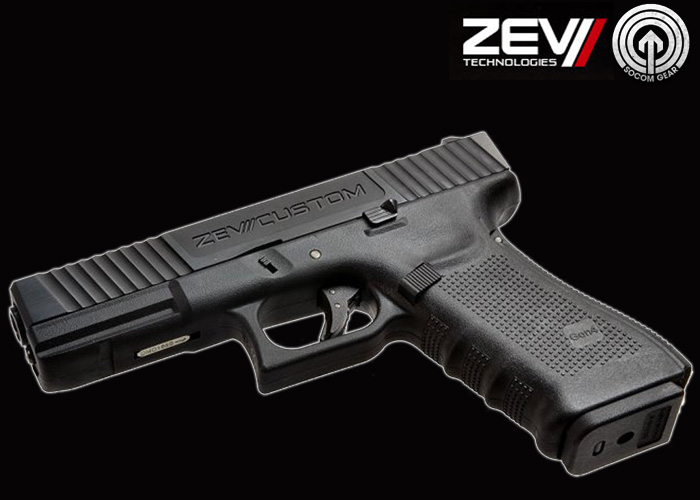 RA-Tech ZEV Custom CNC Metal Slide & Outer barrel for WE G17 GBB