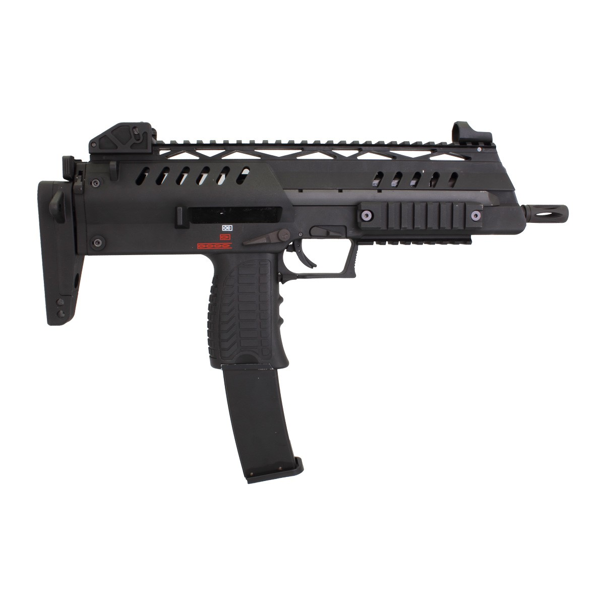 WE SMG 8 (MP7) Gas Blow Back (Black)