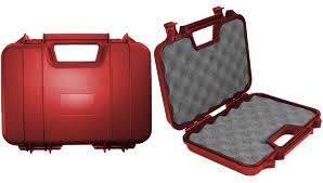SRC HARD PISTOL CARRYING CASE (30CM) RED