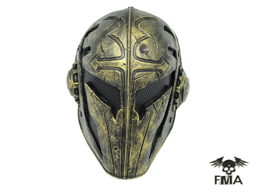 "CM Wire Mesh ""Templar""Mask (Gold)"
