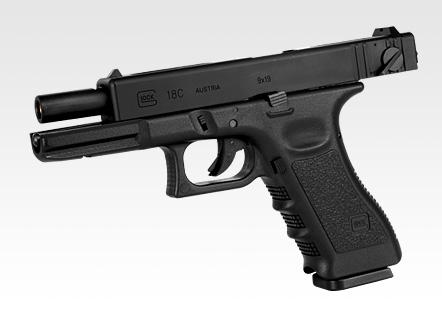 Tokyo Marui Glock G18C Semi & Full Auto Gas Blowback Pistol [TM-G18C