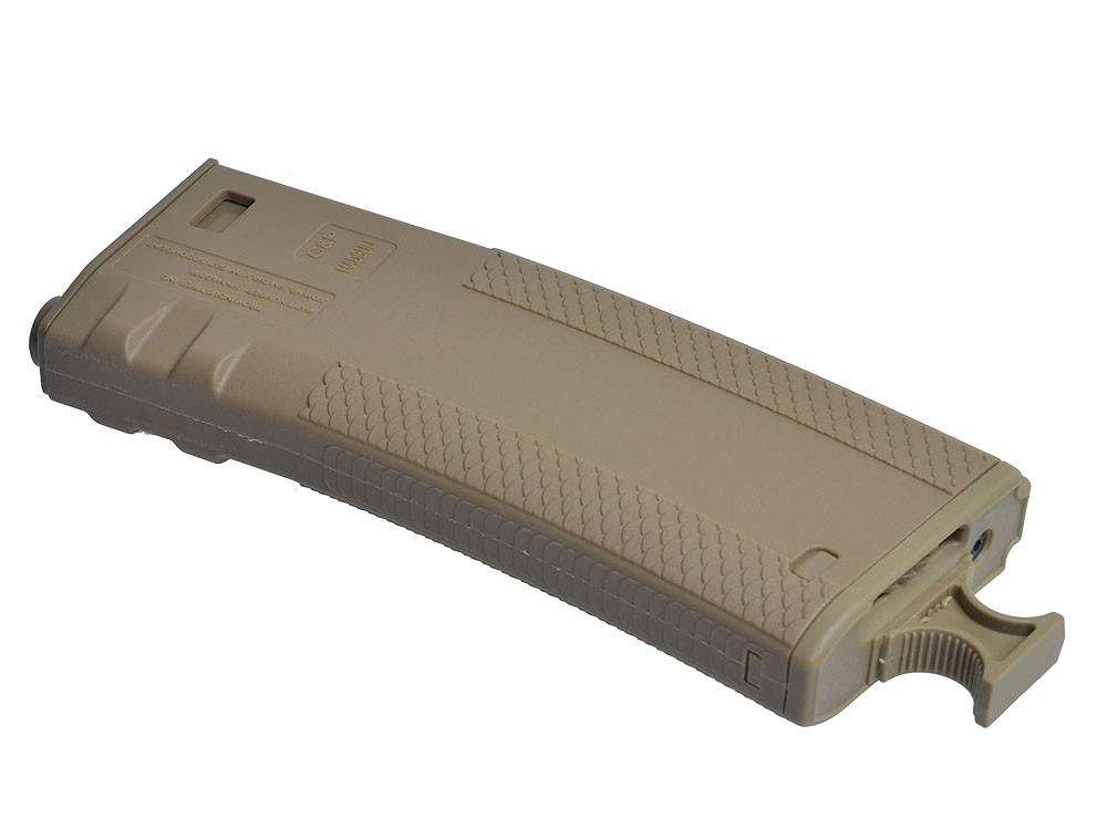 Troy industries Battle Hi Cap Mags - 340rds - Tan (Pack of 2)
