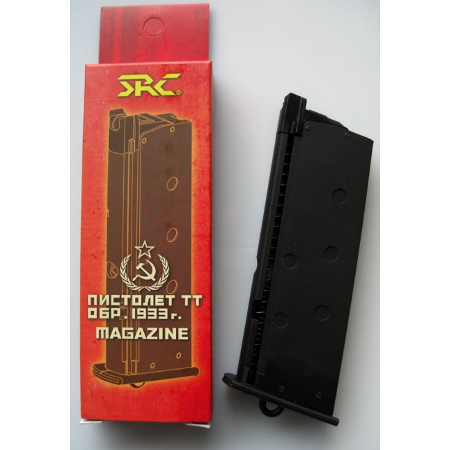 SRC Full Metal 12rds GBB magazine For SRC TT-33