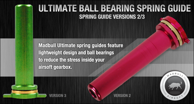 Madbull Ultimate Ball Bearing Spring Guide Version 3