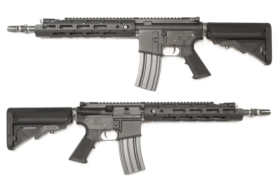 WE M4 Raptor Full Metal AEG Rifle - Black